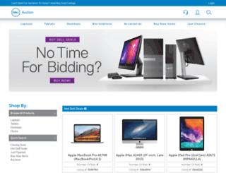 dellauction.com screenshot