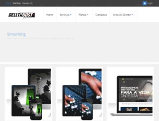 delltahost.com.br screenshot
