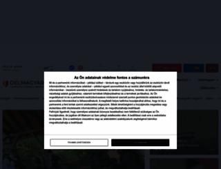 delmagyar.hu screenshot