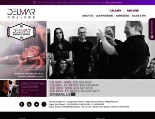 delmarcollege.com screenshot