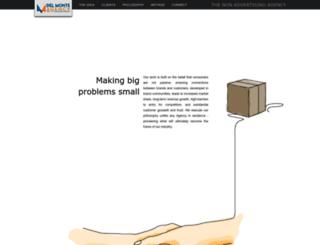 delmonteagency.com screenshot