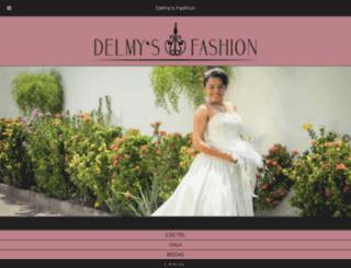 delmysfashion.com.sv screenshot