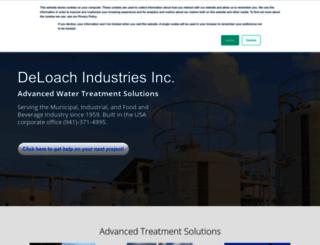deloachindustries.com screenshot
