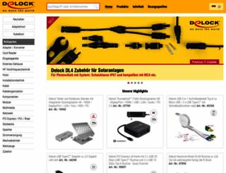 delock.de screenshot