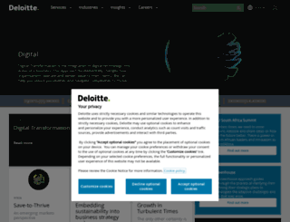deloittedigital.co.za screenshot