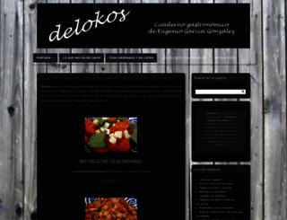 delokos.wordpress.com screenshot