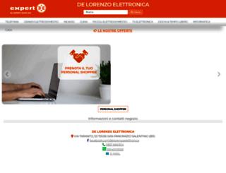 delorenzoelettronica.com screenshot