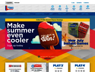 delottery.com screenshot