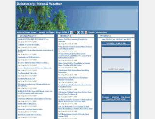 delozier.org screenshot