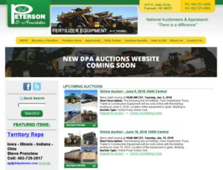 delpeterson.com screenshot