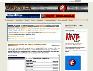 delphi.cz screenshot