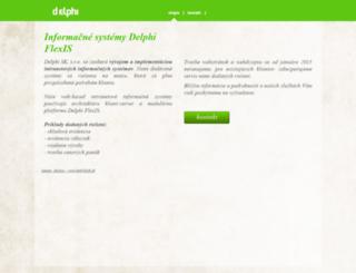 delphi.sk screenshot