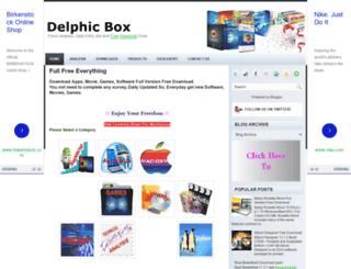 delphicbox.blogspot.com screenshot