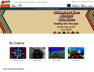 delphiglass.com screenshot