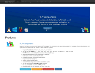 delphihl7.com screenshot