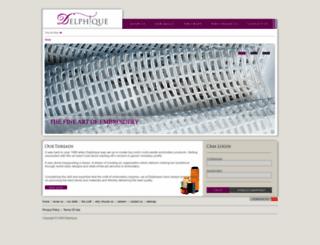 delphique.com screenshot