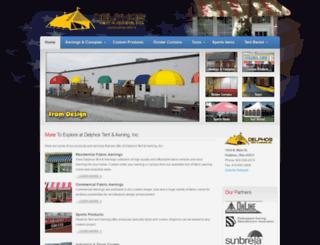 delphostentawning.com screenshot