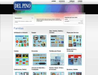 delpino.es screenshot