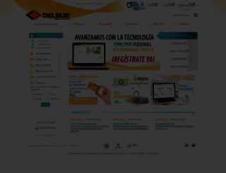 delsur.com.ve screenshot