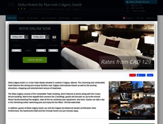 delta-calgary-south.hotel-rv.com screenshot