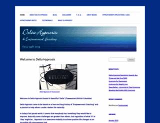 delta-hypnosis.com screenshot