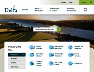 delta.ca screenshot