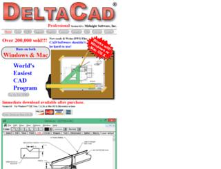 deltacad.com screenshot