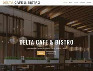 deltacafe.ee screenshot