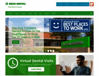 deltadentalar.com screenshot