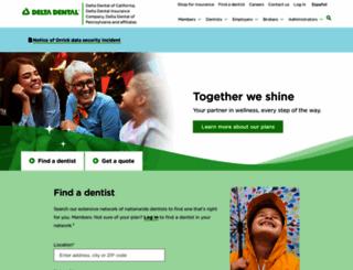 deltadentalins.com screenshot