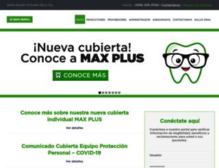 deltadentalpr.com screenshot