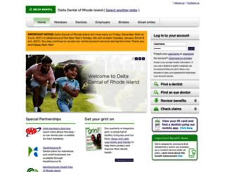 deltadentalri.com screenshot