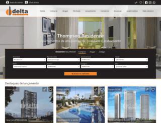 deltaimoveis.com.br screenshot
