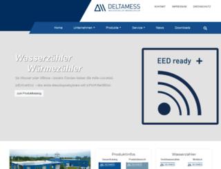 deltamess.com screenshot