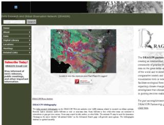 deltas.usgs.gov screenshot
