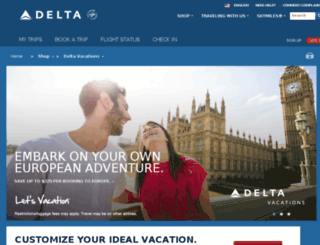 deltavacations.cosmos.com screenshot