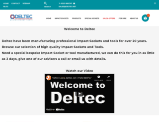 deltec.net screenshot