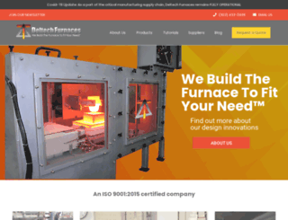 deltechfurnaces.com screenshot