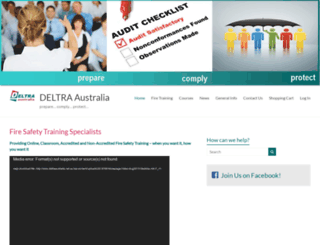 deltraaustralia.com screenshot