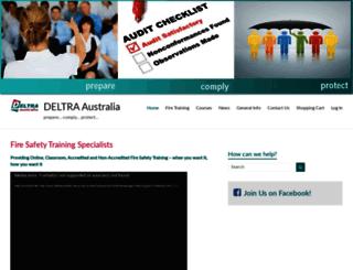 deltraaustralia.net.au screenshot