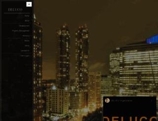 delucoorganization.com screenshot