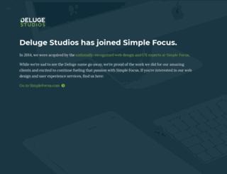 delugestudios.com screenshot