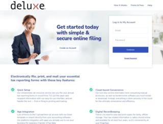 deluxe.efile1.com screenshot