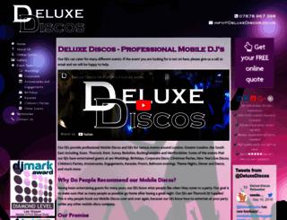 deluxediscos.co.uk screenshot