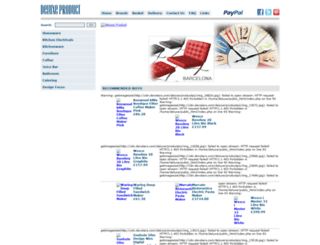 deluxeproduct.com screenshot