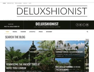 deluxshionist.blogspot.com screenshot