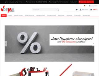 dema-handel.de screenshot