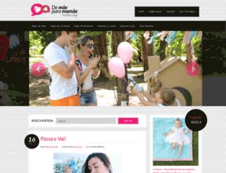 demaeparamamae.com.br screenshot
