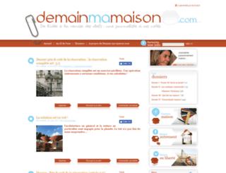 demain-ma-maison.com screenshot