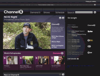 demand.five.tv screenshot